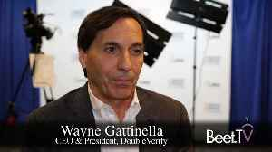 News video: DoubleVerify CEO Gatinella On The Growth Of Brand Safety Measurement