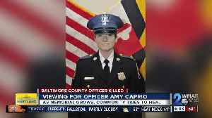 News video: Road closed Thursday for Officer Caprio viewings