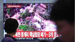 News video: North Korea Blows Up Nuclear Test Tunnels