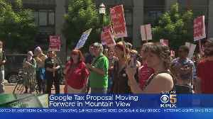 News video: Mountain View Eyes Tax On Google, Large Tech Businesses