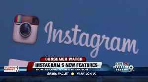 News video: Instagram to release an update with new features