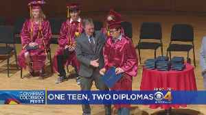 News video: Teen Becomes First For DPS To Graduate High School & College Concurrently