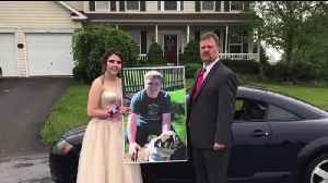 Father Takes Late Son's Girlfriend to Prom After Crash [Video]