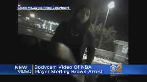 News video: NBA Player Hit With Taser By Milwaukee Cops