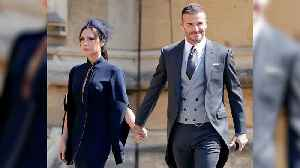News video: Victoria Beckham Reveals the Royal Wedding Was 'the Best Day' and Gushes About Meghan's Dress