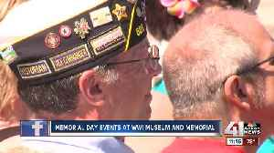 News video: Memorial Day events at WWI Museum and Memorial