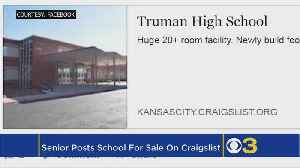 News video: Student Tries To Sell High School On Craigslist In Graduation Prank