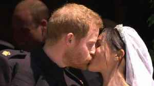 News video: Prince Harry Reportedly Had 'Emotional' Call With Ex Before Wedding