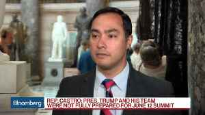 News video: Rep. Castro Says Trump Was Not 'Fully Prepared' for North Korea Summit
