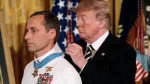 News video: Trump presents Medal of Honor to Master Chief Britt Slabinski
