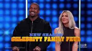News video: Kanye West DESTROYS Kris Jenner In Hilarious Family Feud Promo