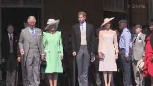 News video: Right Now: Duke and Duchess of Sussex Celebrates Prince of Wales' 70th Birthday