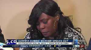 News video: Harris' mother: my son should have been detained