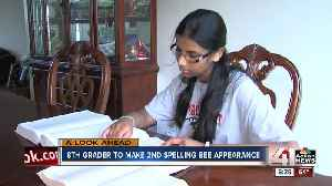 News video: 8th-grader to make second Spelling Bee appearance