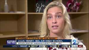 News video: Student Athlete of the Week: Julia Henry