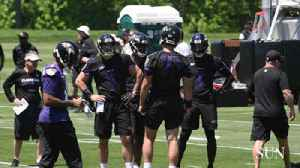 News video: Joe Flacco said he and Lamar Jackson are getting along well, downplays questions about his future