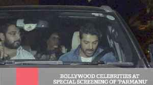 News video: Bollywood Celebrities At Special Screening Of 'Parmanu'