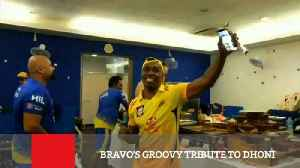 News video: Bravo's Groovy Tribute To Dhoni
