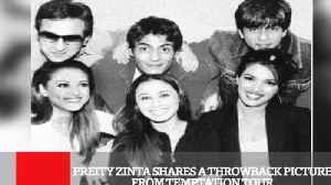 News video: Preity Zinta Shares A Throwback Picture From Temptation Tour