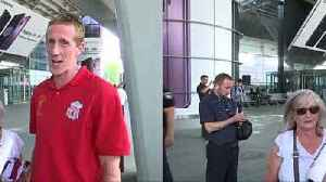 News video: Livverpool fans full of confidence at Kiev airport