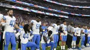 News video: Players and owners react to NFL's new national anthem policy