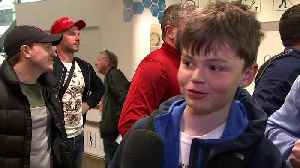 News video: Liverpool fans on way to Kiev after flight cancellations
