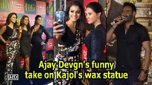 News video: Bollywood actress Kajol walked on the red carpet with her daughter Nysa for the first time to unveil her wax statue at Madame Tu