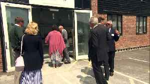 News video: Prince Charles visits Bridport Literary & Scientific Institute