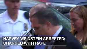 News video: Harvey Weinstein Arrested; Charged with Rape