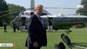 News video: President Trump Says Melania Trump Is 'Doing Great' After Surgery