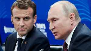 News video: Macron And Putin Both Worried By Trump