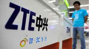 News video: U.S. Reaches Deal To Keep Chinese Telecom ZTE Back In Business