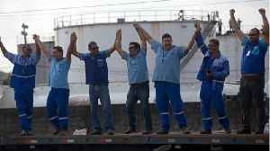 News video: Truckers Enter Fifth Day Of Strike In Brazil