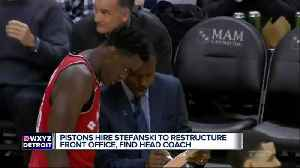 News video: Pistons hire Ed Stefanski, and it appears Dwane Casey is the front-runner to be the team's head coach