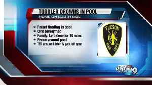 News video: 2-year-old boy drowns in southside pool