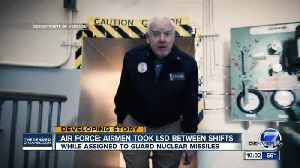 News video: Security troops on US nuclear missile base in Wyoming took LSD