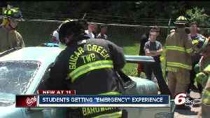 News video: High school students get hands-on experience in emergencies