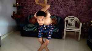 """News video: Meet the Indian """"Rubber boy"""" who can rotate his shoulders at 360 degrees and neck at 180 degrees"""