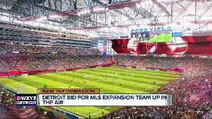 News video: Detroit reportedly loses its bid for an MLS team