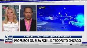 News video: Illinois prof calling on Trump to send in the troops to combat Chicago violence