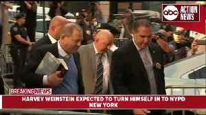 News video: Harvey Weinstein turns himself in on sex crime charges in New York