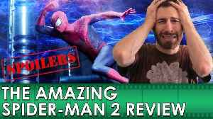 News video: The Amazing Spider-Man 2 Movie Review [SPOILERS] (Belated Media)