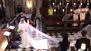 News video: Royal Entrance At The Wedding Of Meghan Markle and Prince Harry
