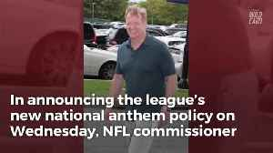 News video: League Did Not Let NFL Owners Officially Vote On New Anthem Policy Before Release