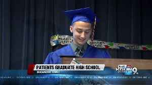 News video: Why five students graduated at a hospital