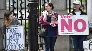 News video: Ireland Votes on Abortion Referendum, Repealing Amendment