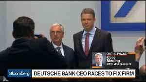 News video: DSW's Nieding Says New Deutsche Bank CEO Has the Right Strategy