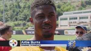 News video: Steelers' Artie Burns Trashes New NFL National Anthem Policy, Calls It 'Bullying'