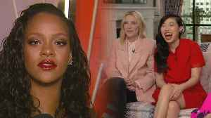 News video: Watch Rihanna Put the 'Ocean's 8' Cast on the Spot With Sneaky Question (Exclusive)