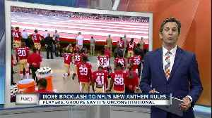 News video: NFL owners approve policy for players kneeling during national anthem